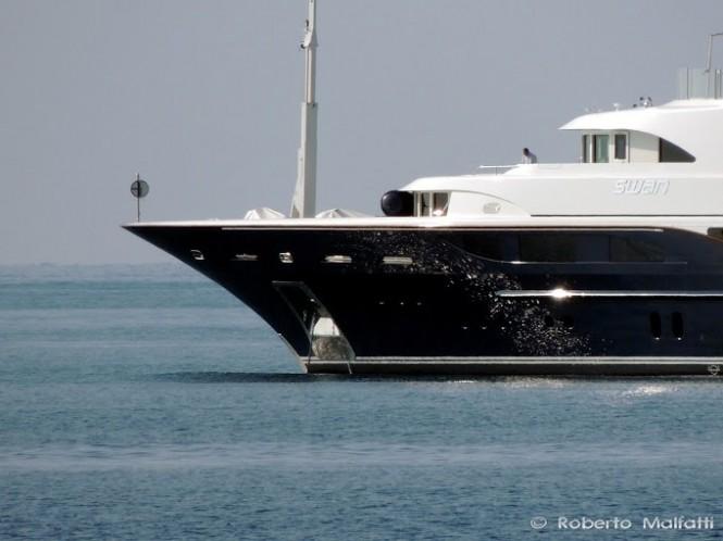 Super Yacht SWAN - Benetti - Photo Roberto Malfatti