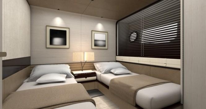 Superyacht 95RPH - Guest Cabin