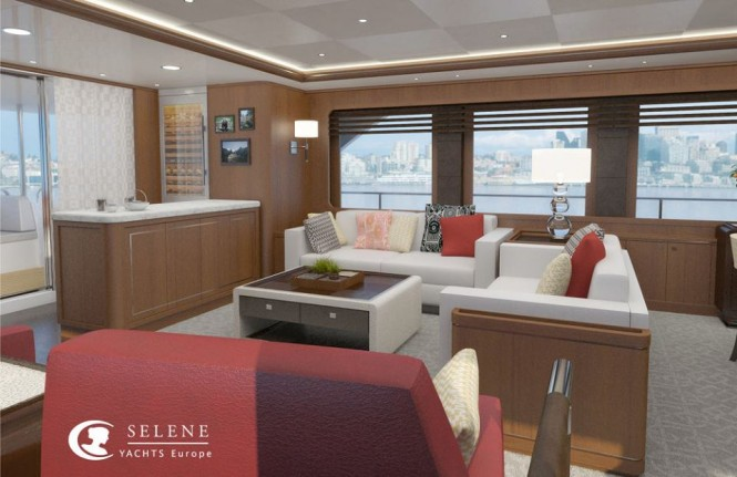 Superyacht Selene 92 - Interior