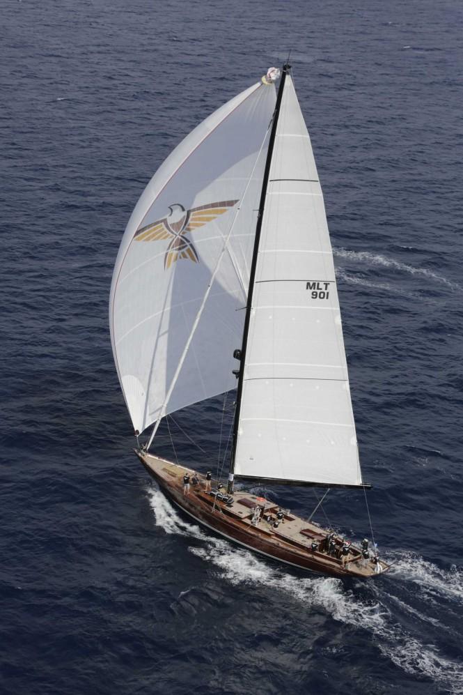 Humphreys Designed Sailing Yacht Tempus Fugit Among