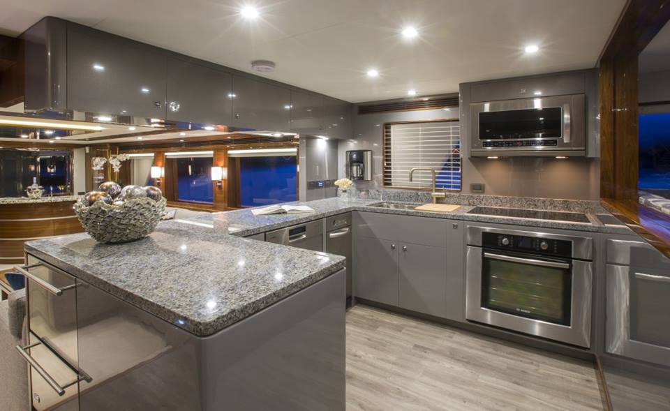 Ti Punch Superyacht Galley Yacht Charter amp News