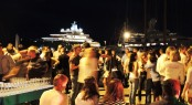 Vilanova Crew Party at Vilanova Grand Marina positioned in the lovely Spanish yacht charter location - Barcelona