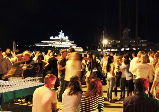 Vilanova Crew Party at Vilanova Grand Marina positioned in the lovely Spanish yacht charter location - Barcelona