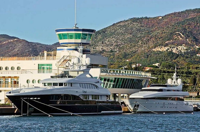 Yacht Club Marina di Loano in the popular summer yacht charter destination - Italy