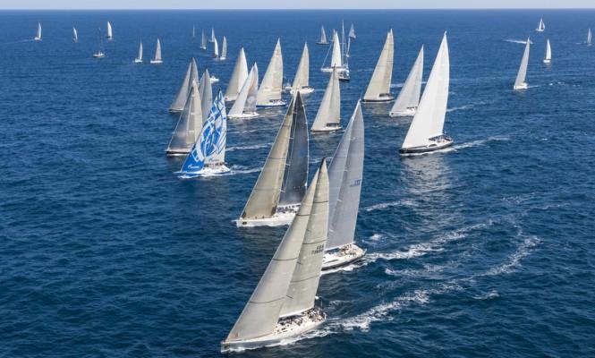 Swan fleet at Rolex Swan Cup 2012