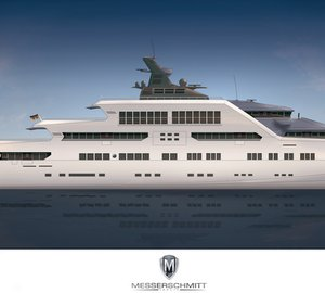 Latest 105m mega yacht MTT-REFUGIUM by Messerschmitt Yachts