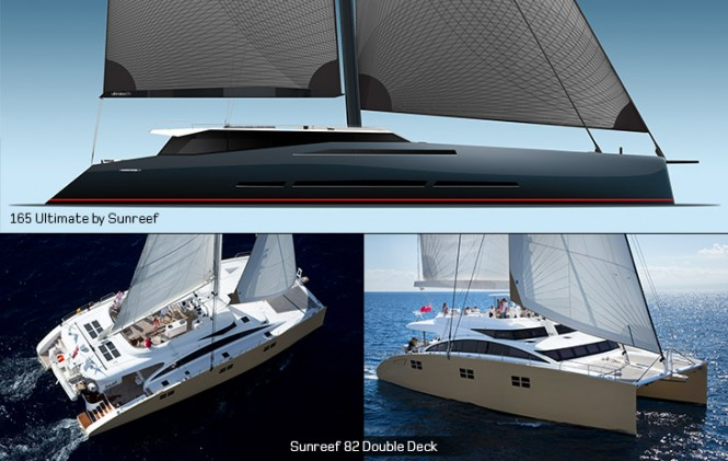 165 Ultimate Superyacht Concept by Sunreef and Sunreef 82 DD Yacht