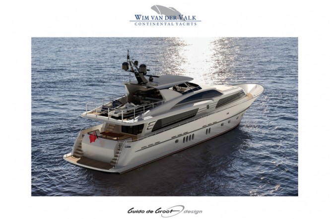 30m Continental III 30.00 RPH Yacht - aft  view