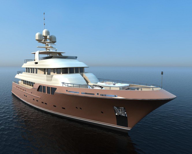 38m Marco Polo Transocean Explorer series Yacht by MCC Yachts