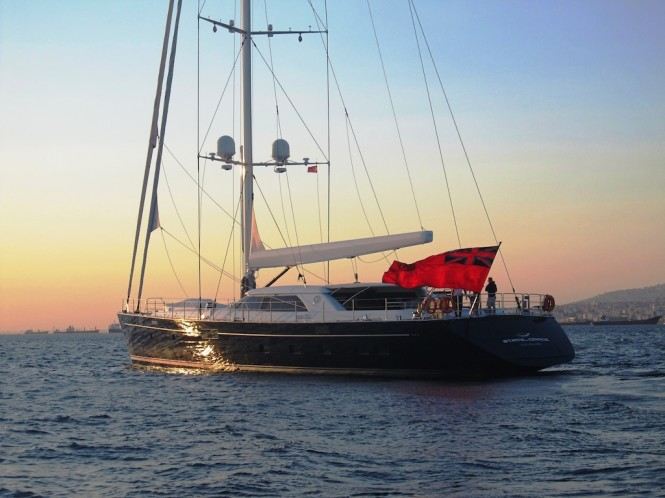 40m State of Grace yacht