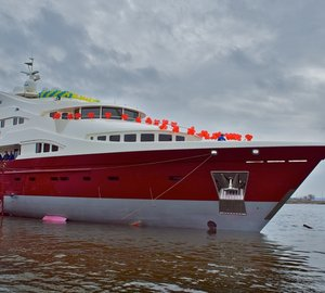 Newly launched ARTPOLARS Yacht designed by Ginton Naval Architects
