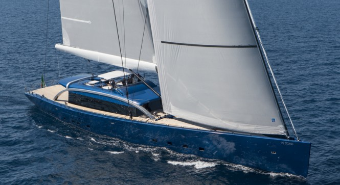 48m superyacht Nativa by Arzana Navi under sail