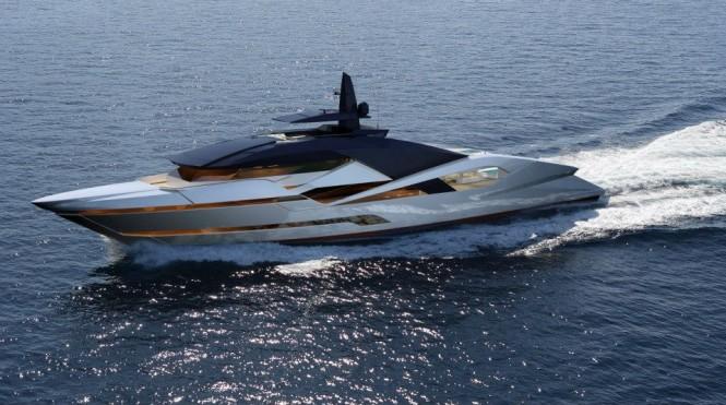 65m luxury yacht Project Granturismo