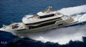 65m superyacht Crescendo concept by MUB