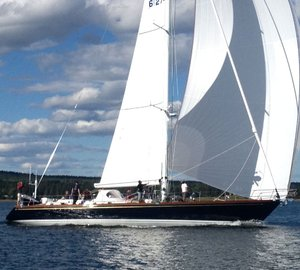 Brooklin Boat Yard christens 70' sailing yacht SONNY