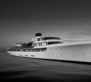 74m historic yacht WILLIAMSBURG - the latest yacht refit project by Green Yachts