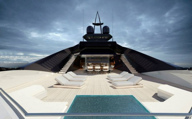 Aboard 65m mega yacht Project Granturismo