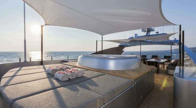 Aboard Panthera superyacht