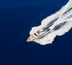 Interior images of luxury motor yacht Amer Cento by Amer Yachts