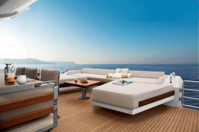 Azimut Grande 120SL Yacht - Exterior