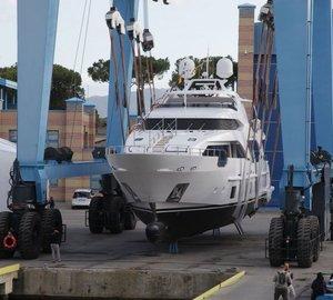 Benetti launches 7th Delfino 93' motor yacht ZEHAVA