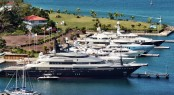 C&N's Port Louis Marina in the popular Caribbean yacht charter destination - Grenada