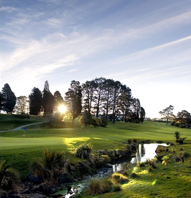 Image credit Titirangi Golf Club - New Zealand