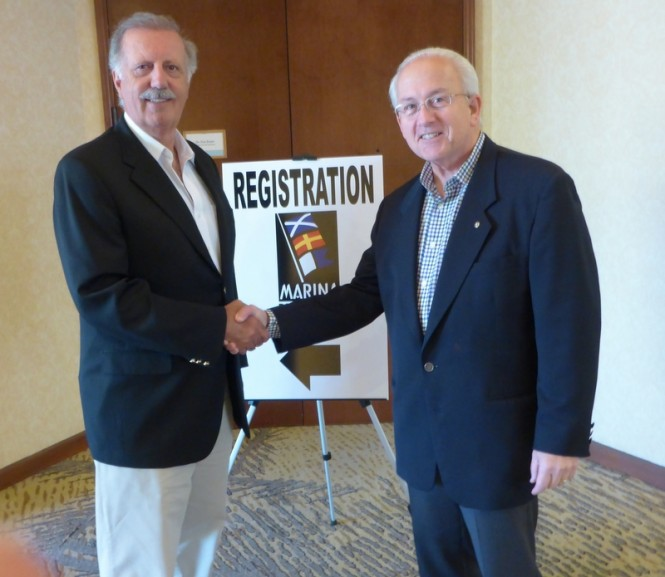 Jeff d'Abora and Larry Halgren at the MRA Conference