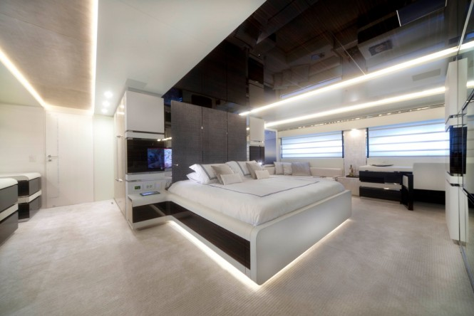 keyla superyacht interior by hot lab luxury yacht charter superyacht news. Black Bedroom Furniture Sets. Home Design Ideas