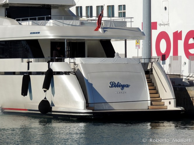 Luxury motor yacht LILIYA - Photo credit Roberto Malfatti