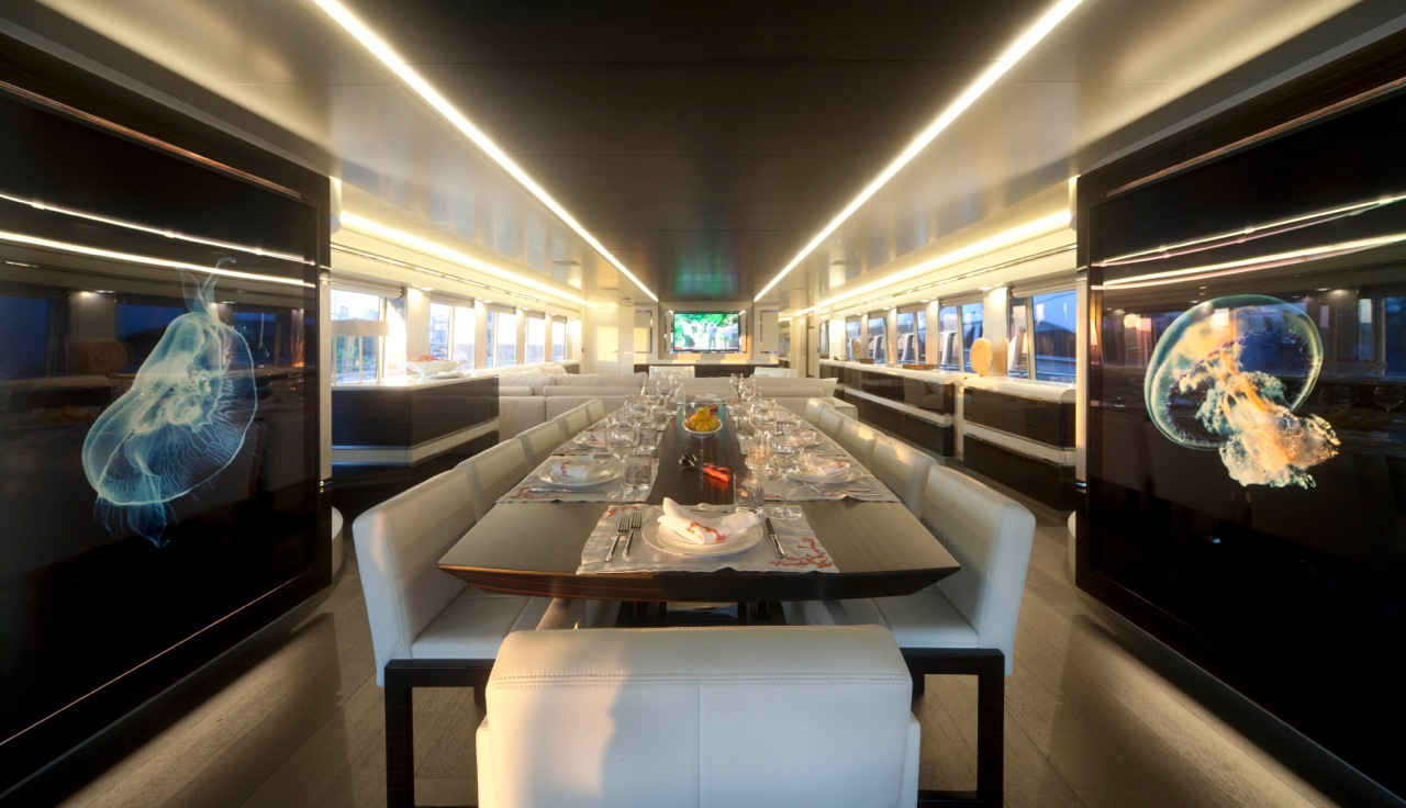 Luxury superyacht keyla interior by hot lab luxury yacht charter