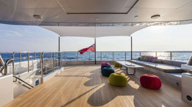 Luxury yacht Panthera - Exterior