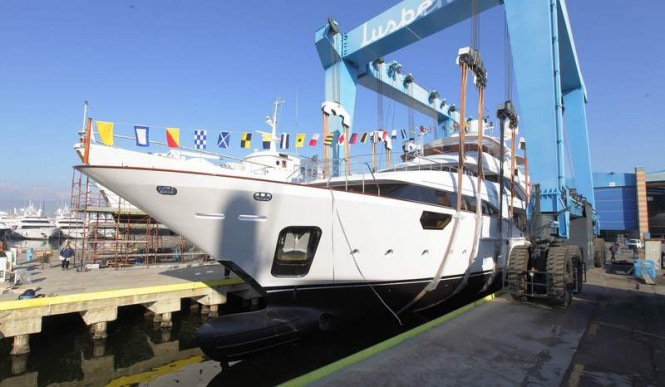 Luxury yacht Soy Amor ready to hit the water