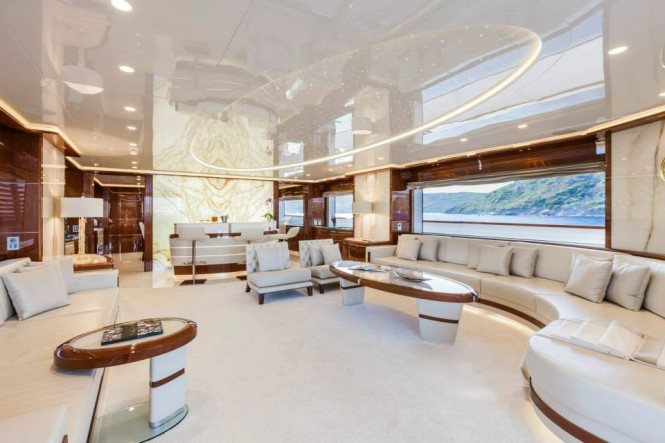 Luxury yacht Vellmari by Rossinavi - Interior - Copyright- Alberto Cocchi