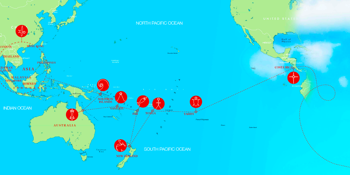 Map Image Credit To John Panoho Yacht Charter Amp Superyacht News