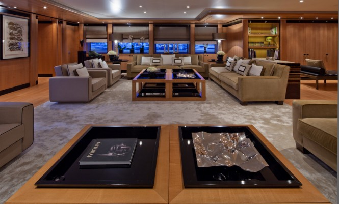 Mega yacht CHOPI CHOPI - Interior - Photo by Maurizio Paradisi