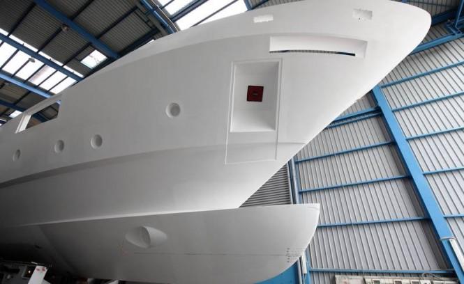 Motor yacht F-125 hull