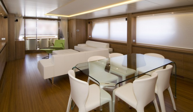 Motor yacht Marcelina - Dining