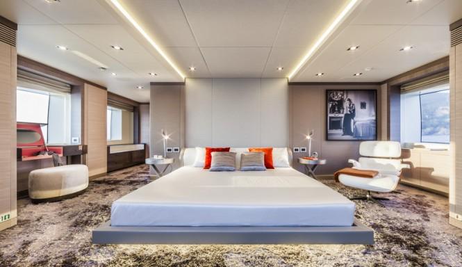 Motor yacht Panthera - Owners Cabin