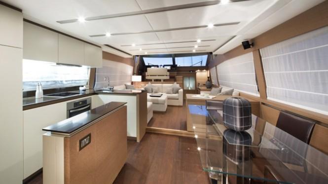 Motor yacht Prestige 750 - Interior