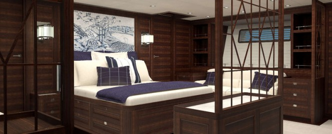 PS46 Yacht Concept - Navigator Owners Cabin