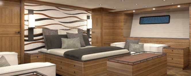 PS46 Yacht Concept - Voyager Owners Cabin