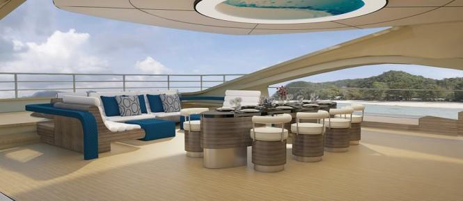 Palmer Johnson 42m SuperSport Yacht - Dining