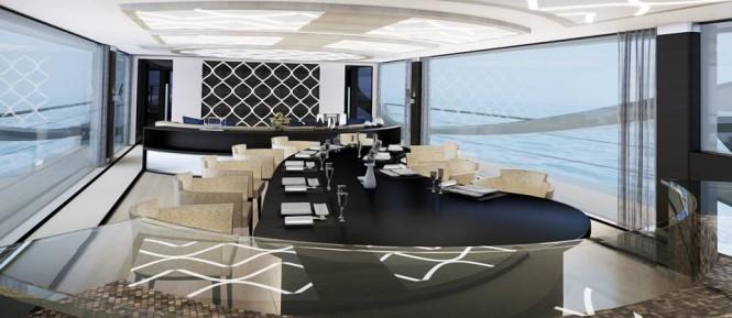 Palmer Johnson 48m SuperSport Superyacht - Dining