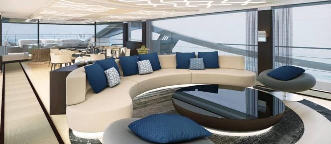 Palmer Johnson 48m SuperSport Yacht - Saloon