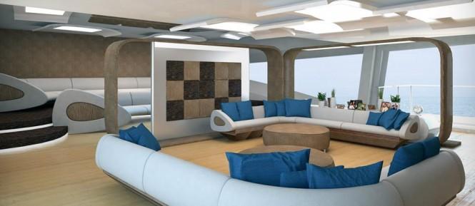 Palmer Johnson 72m SuperSport Series superyacht - Saloon