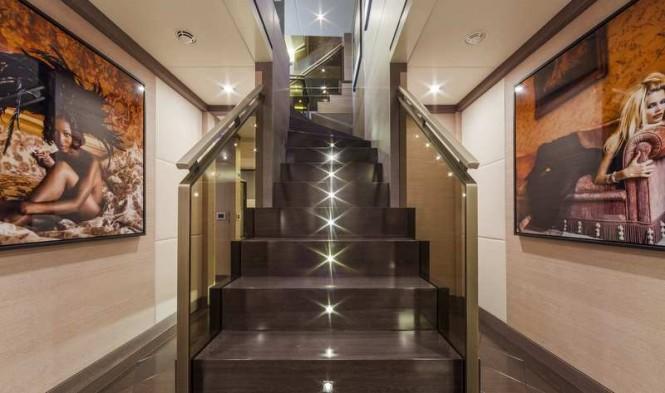 Panthera Yacht - Staircase