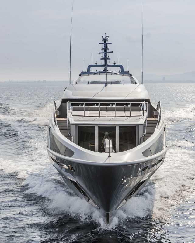 Panthera Yacht - front view