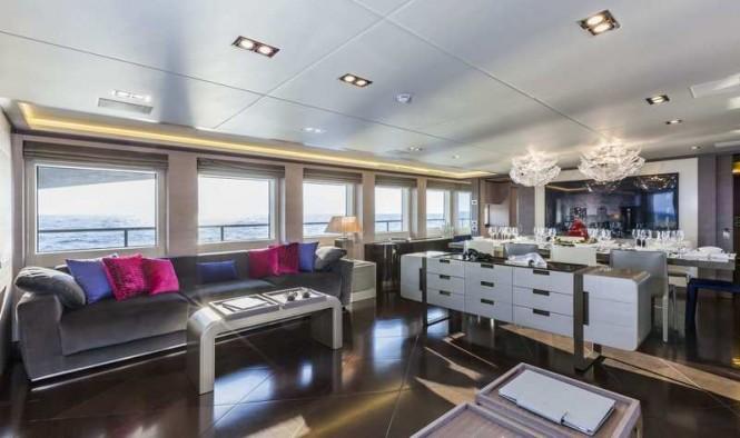Panthera superyacht - Main Saloon
