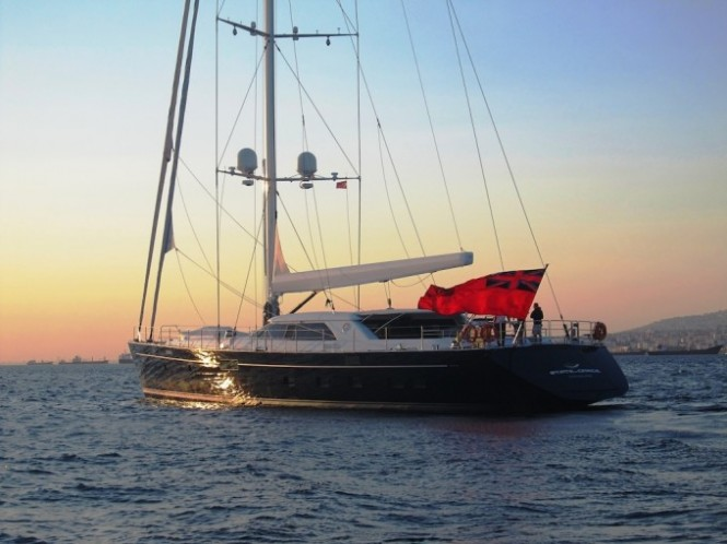 Perini Navi 40m State of Grace yacht